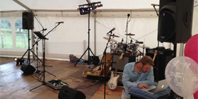 The Fanatics band for hire weddings corporate events